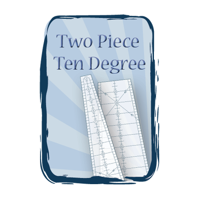 Ten Degree Two Piece Wedge Set