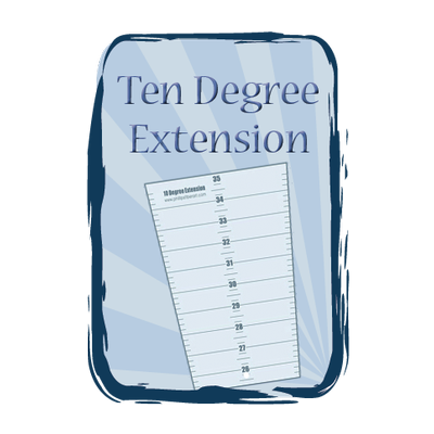 Ten Degree Wedge Extension