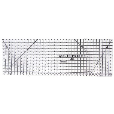 Metric Junior Ruler Black