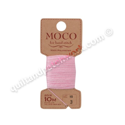 MOCO Solid Color Hand Stitching Thread white 100% Polyester 20/6