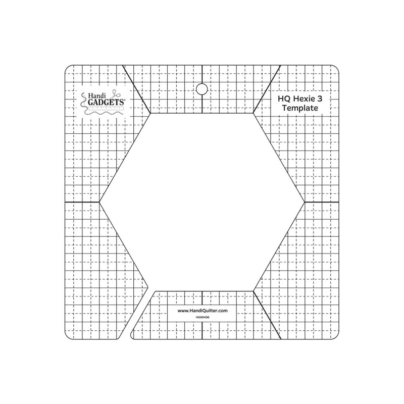 HQ 3-inch Hex Template